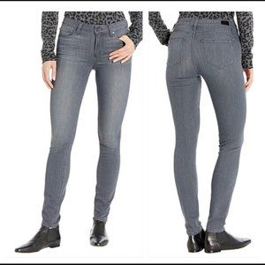 Paige Verdugo Ultra Skinny Jeans Gray Stretch